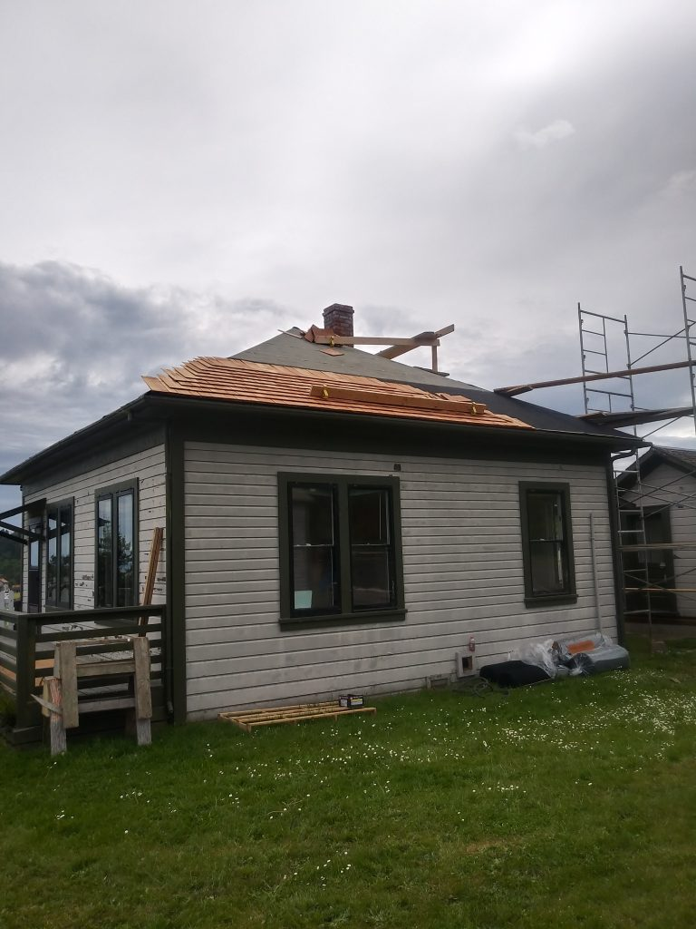 Historic Restoration Roofing by Olympic Roofing, LLC